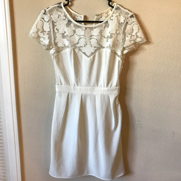 Pins & Needles Dresses & Skirts - Pins & Needles White Lace Dress - Urban Outfitters